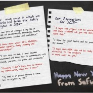 Aspirations for 2013 from the young people of the Safidy project